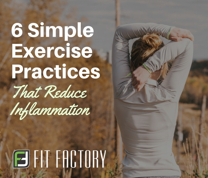 6 Simple Exercise Practices That Reduce Inflammation