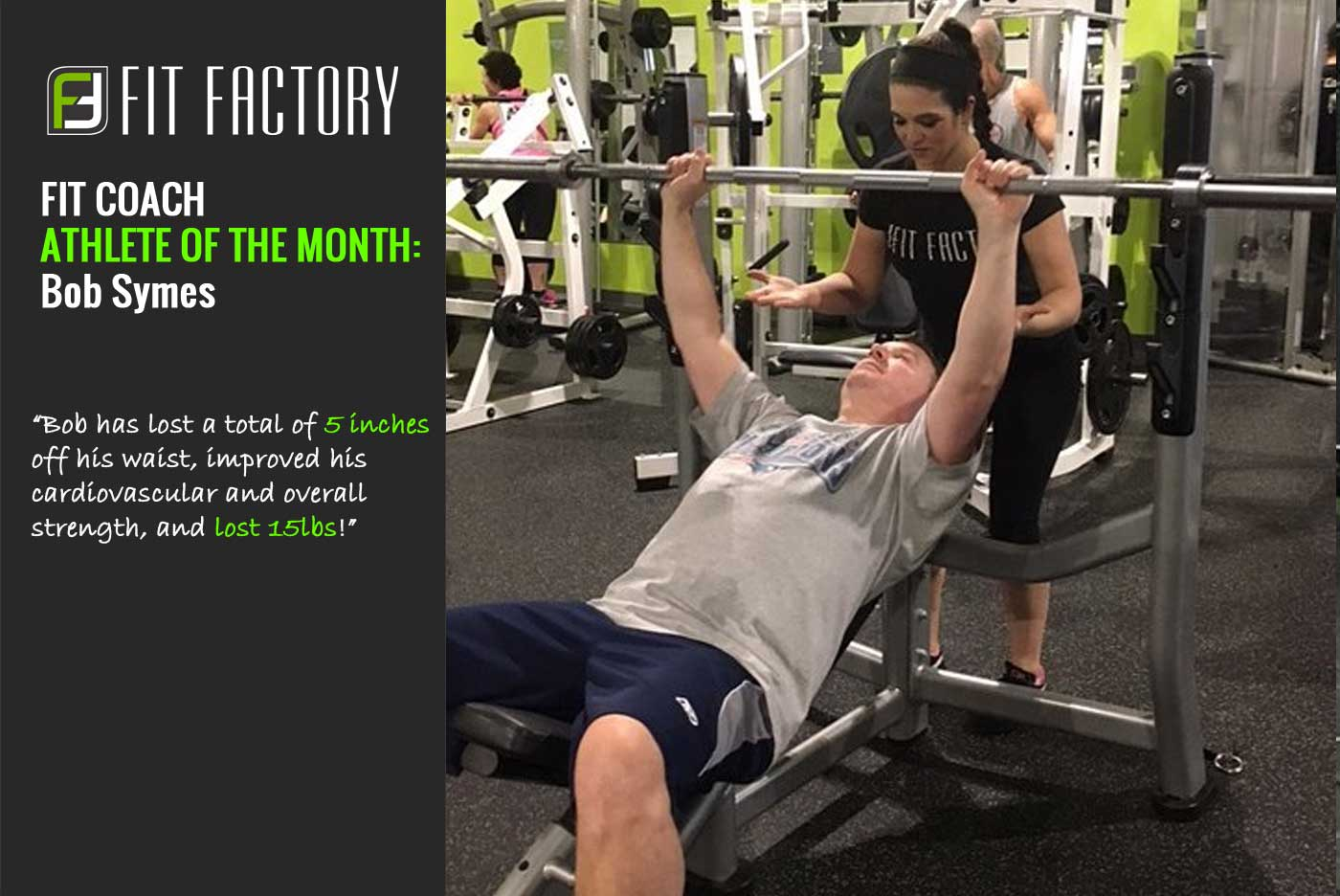 Fit Coach Athlete of the Month:  Bob Symes