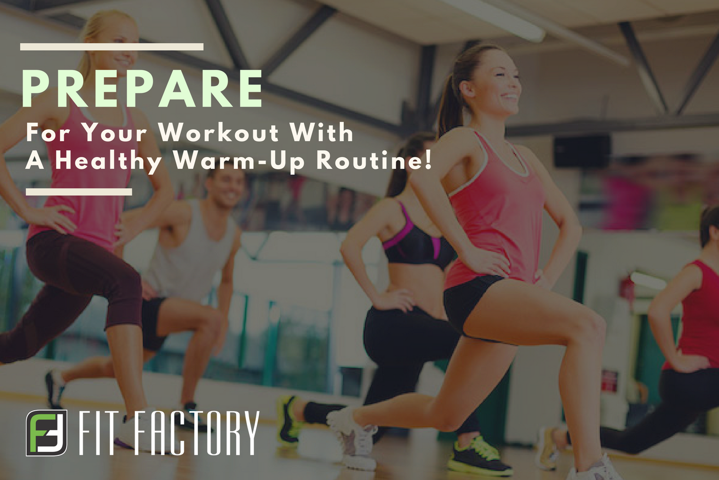 Prepare for Your Workout with a Healthy Warm-Up Routine