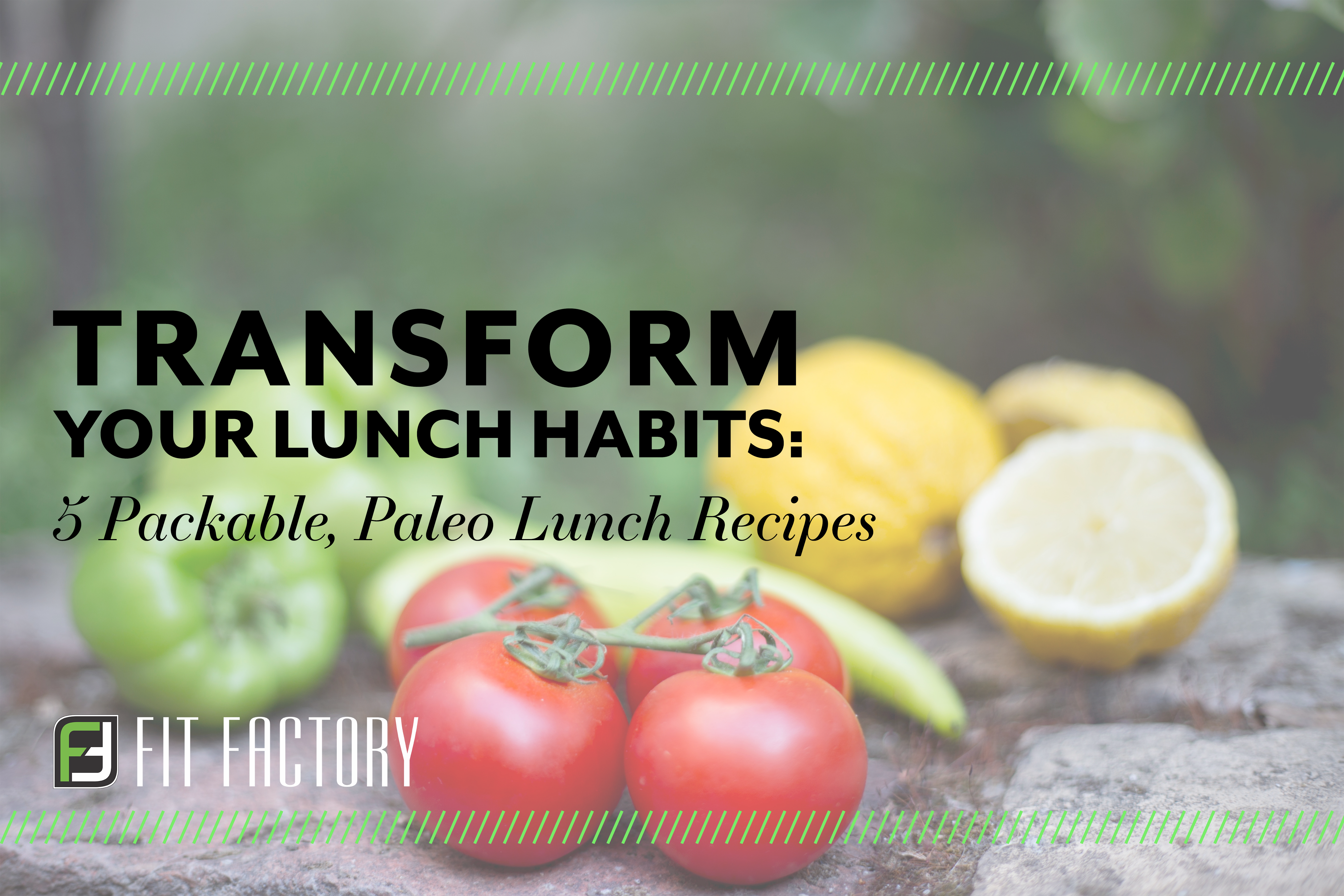 Transform Your Lunch Habits: 5 Packable Paleo Lunch Recipes