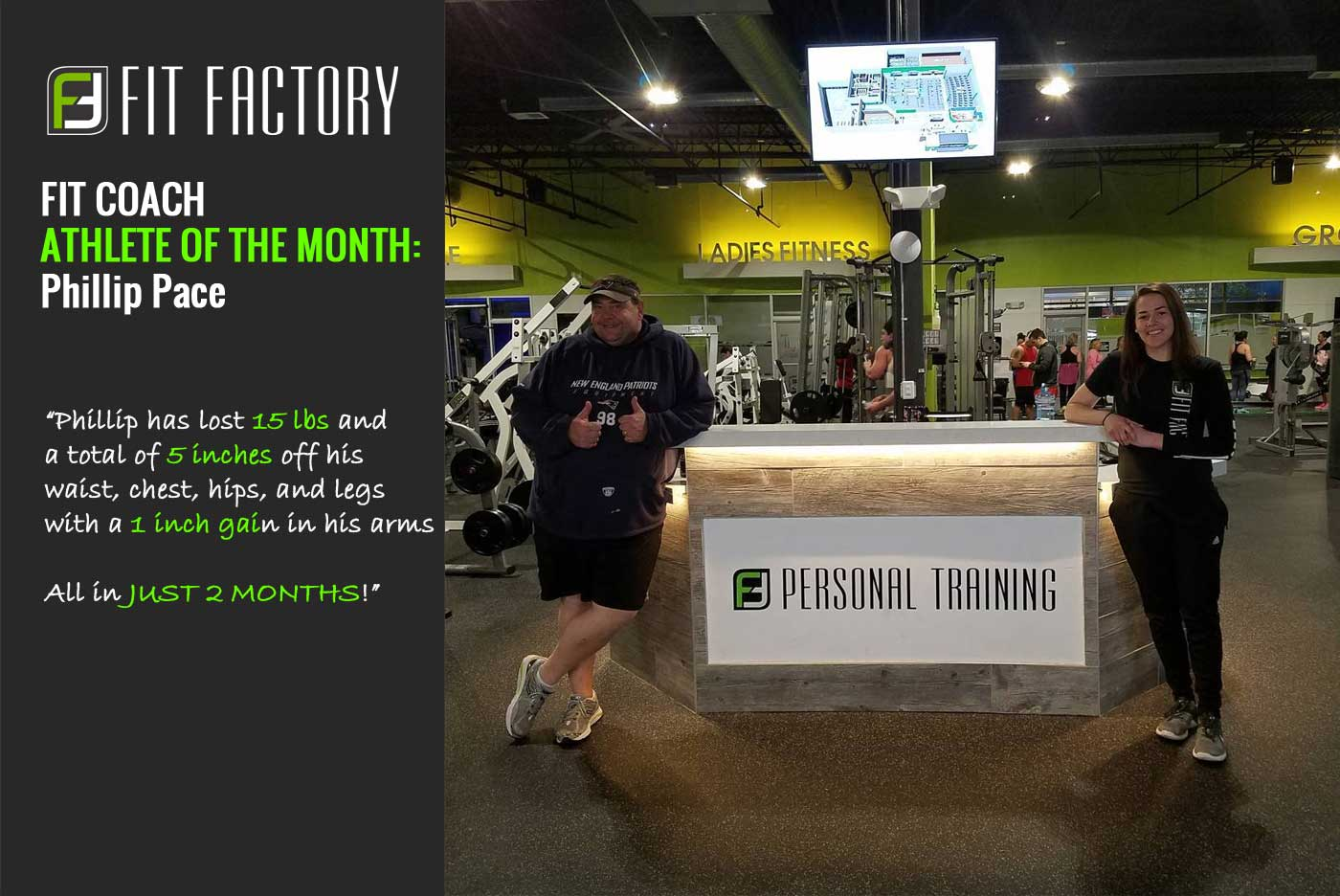 Fit Coach Athlete of the Month: Phillip Pace