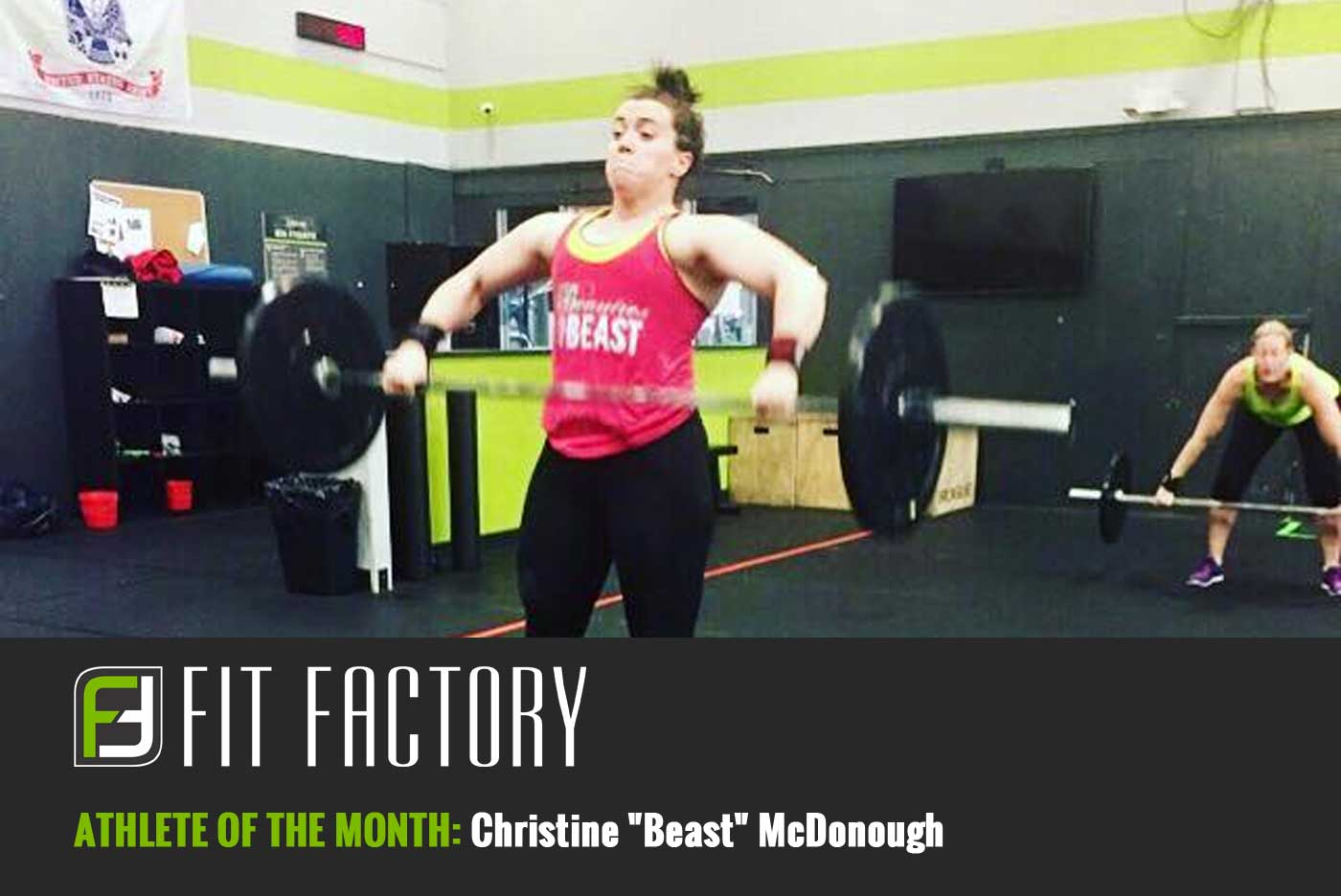 "Athlete of the Month: Christine ""Beast"" McDonough"