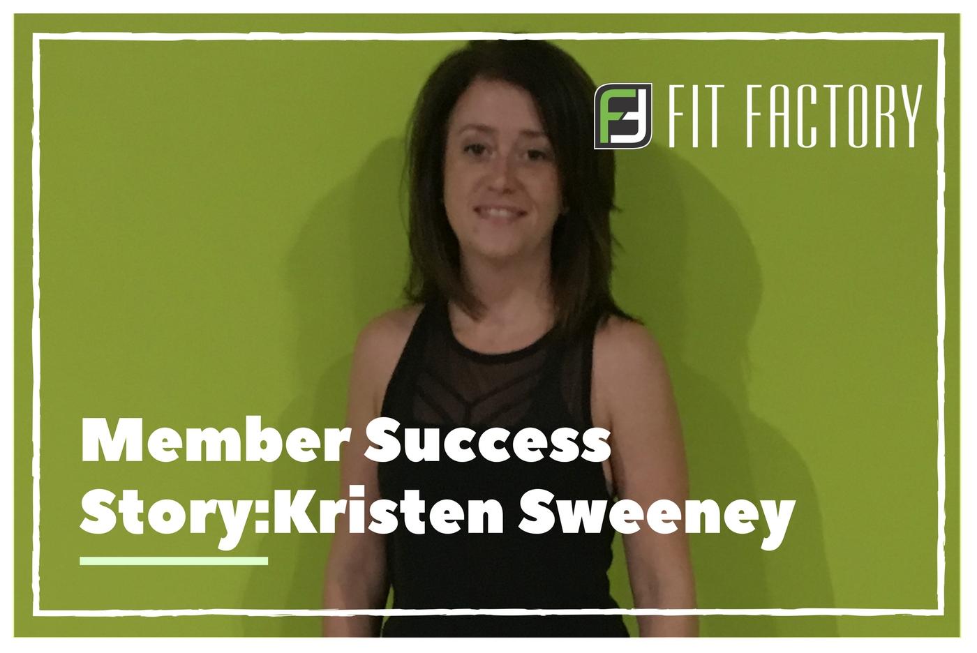 Member Success Story: Kristen Sweeney