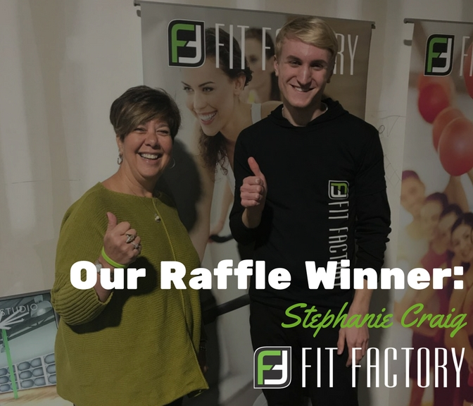 Celebrating Our Raffle Winner: Stephanie Craig